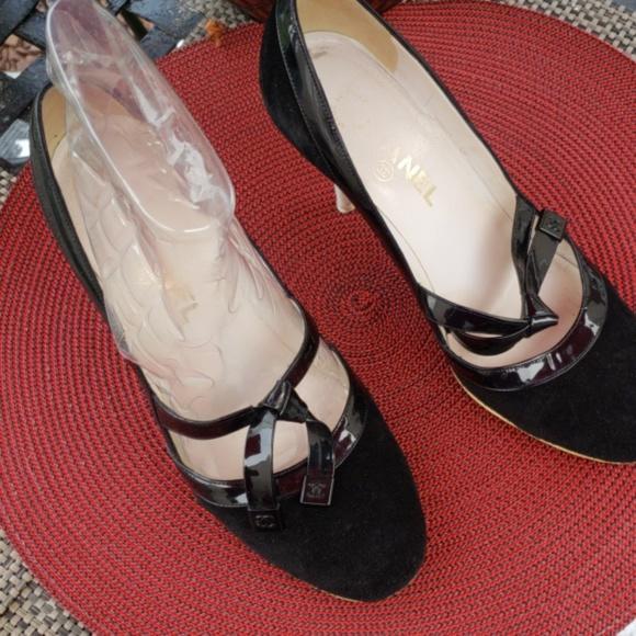 Suede Heels Authentic | Poshmark